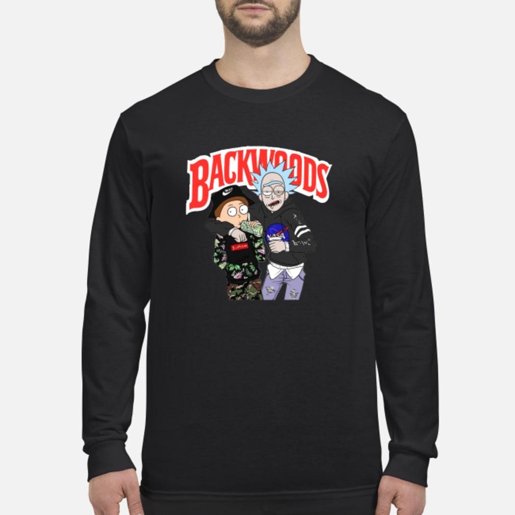 Rick and Morty Backwoods shirt Long sleeved