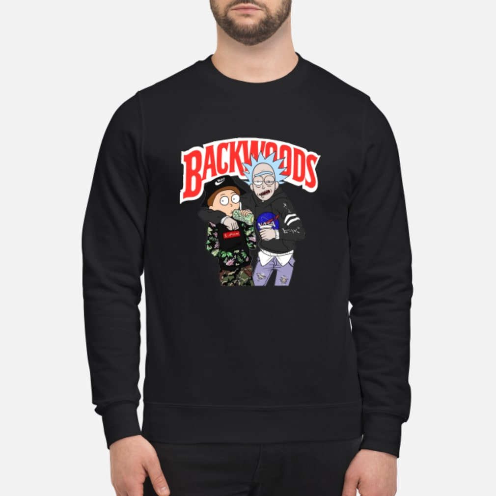 Rick and Morty Backwoods shirt sweater