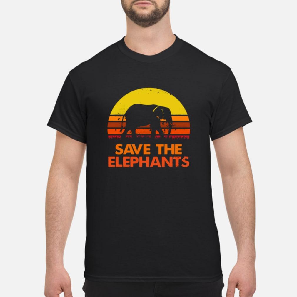Save the elephants vintage shirt