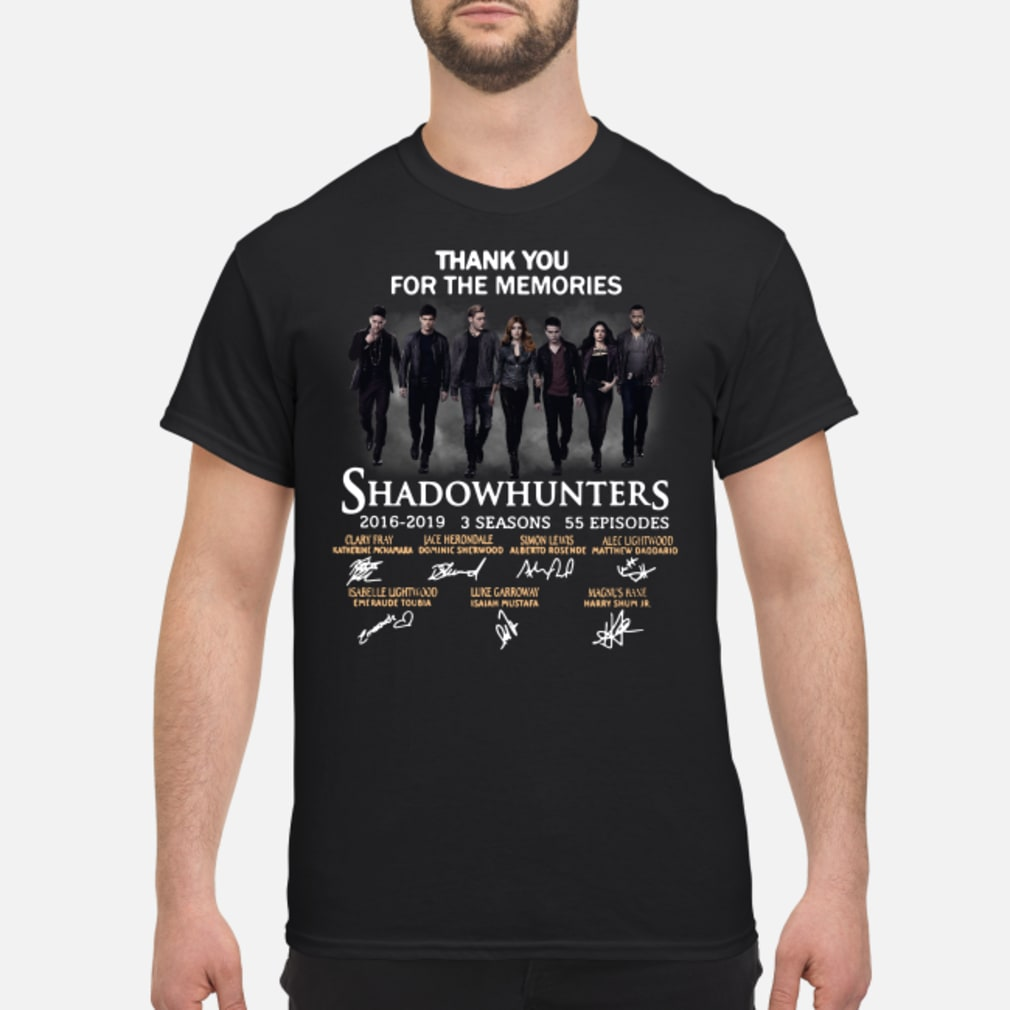 Shadowhunters you for the memories shirt