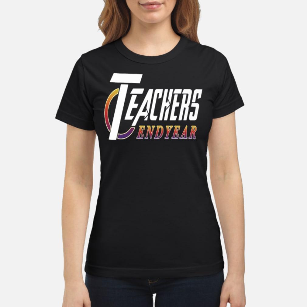 Teachers Endyear Shirt ladies tee