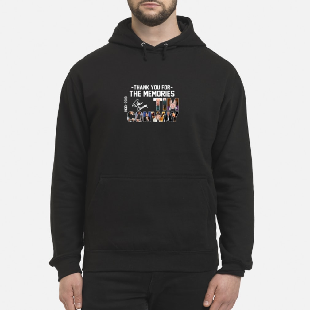 Thank You For The Memories Cnway 1933 2019 shirt hoodie