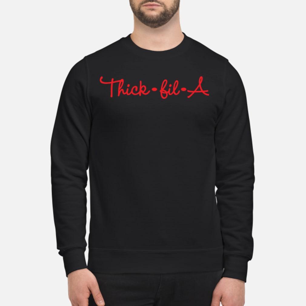Thick fil a shirt sweater