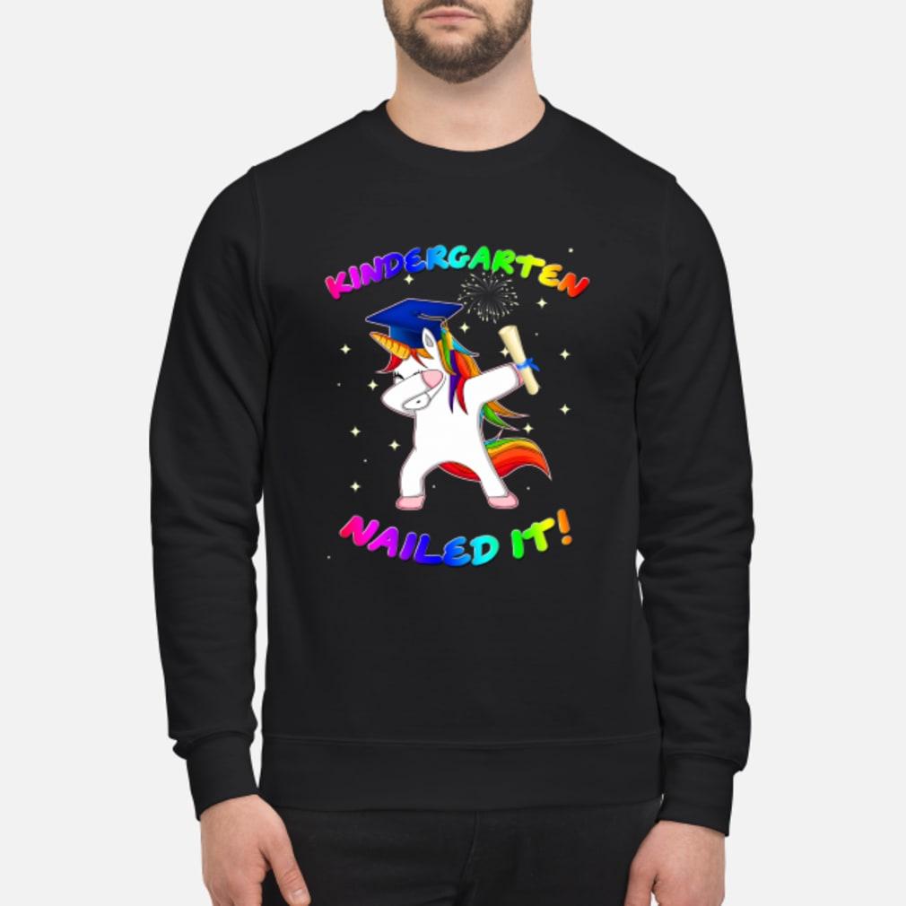 Unicorn Dabbing Nailed it shirt sweater
