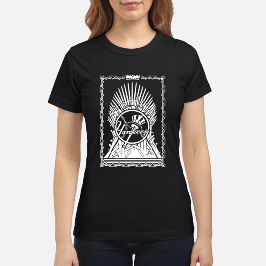 Yankees Game Of Thrones shirt ladies tee