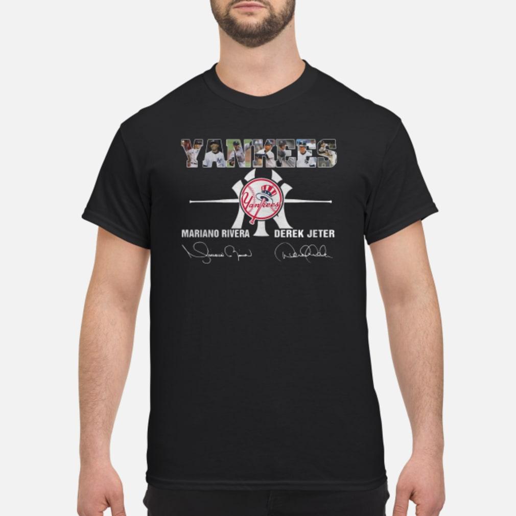 Yankees mariano rivera derek jeter shirt