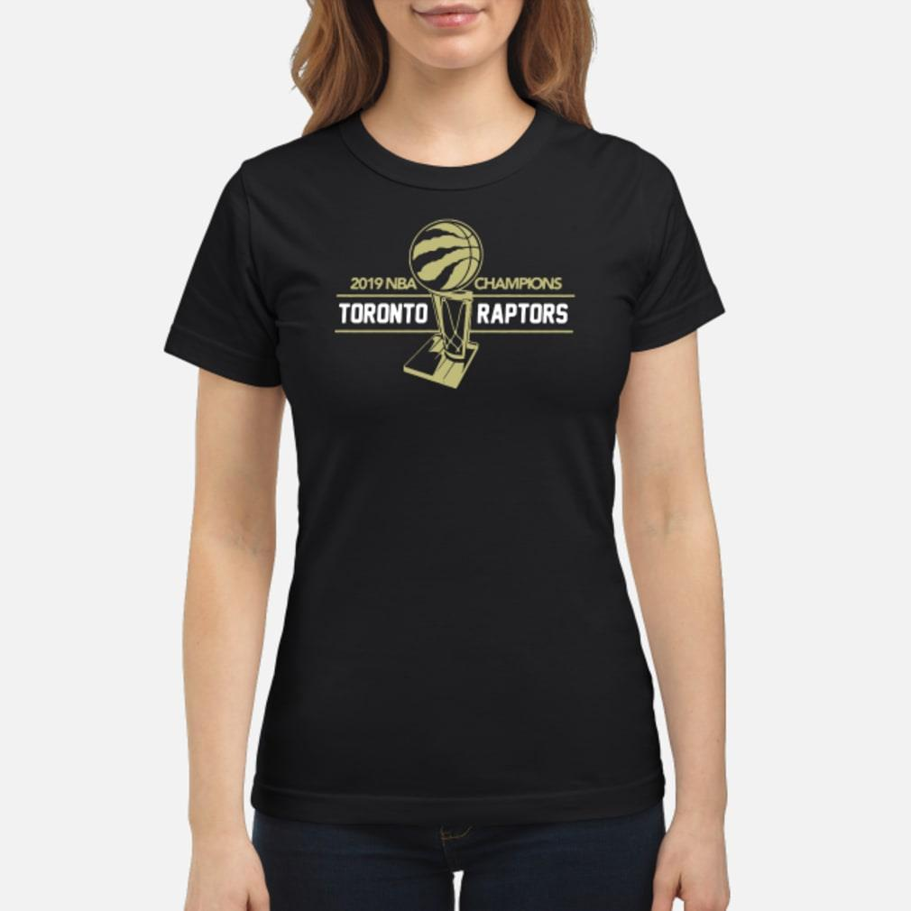 2019 NBA champions Toronto Raptors shirt ladies tee
