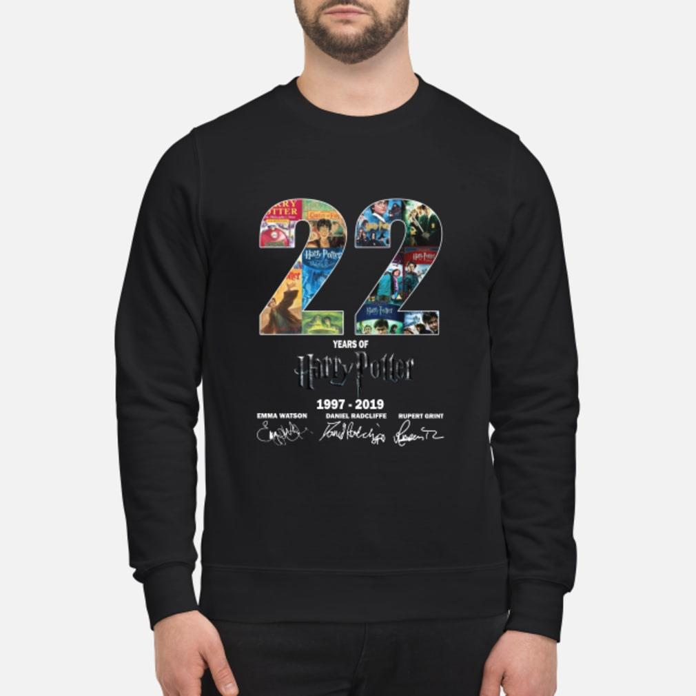 22 Year of Harry Potter 1997-2019 signature shirt sweater