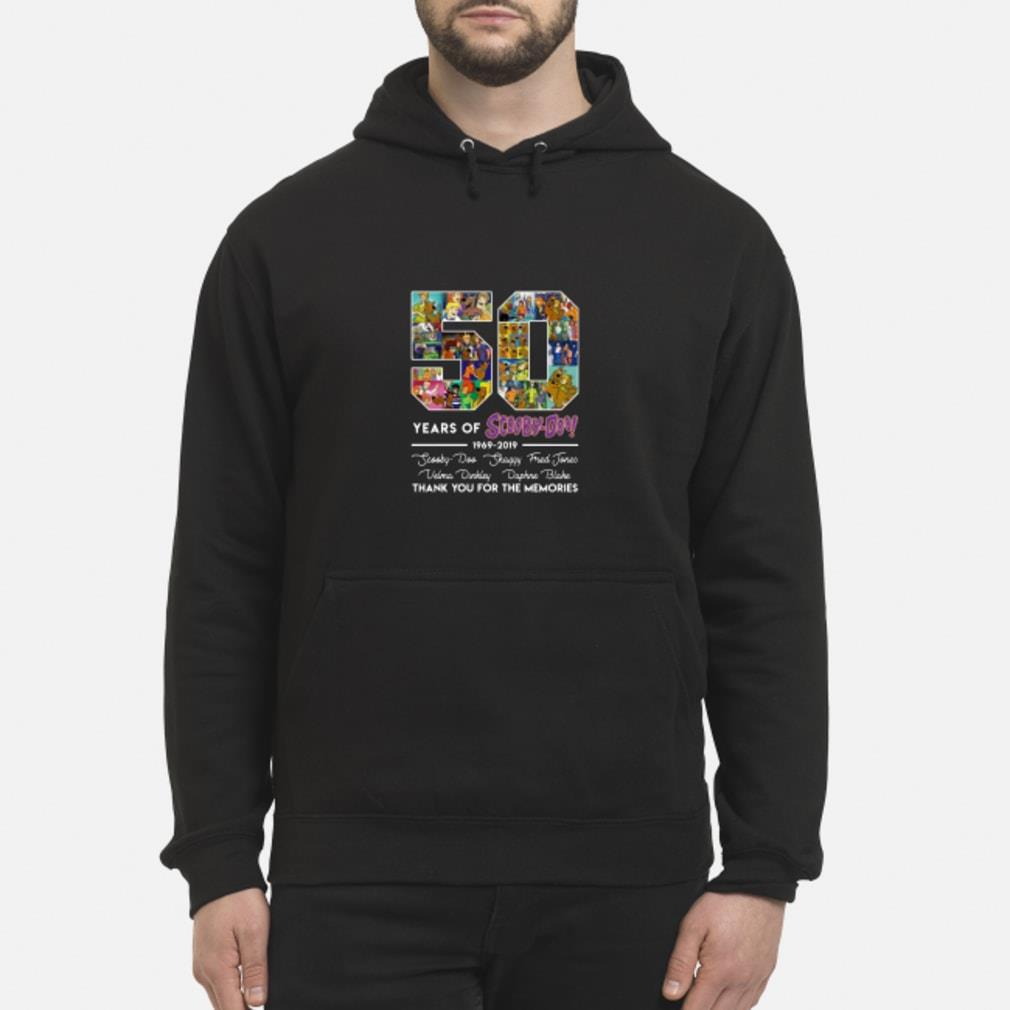 50 Years Of Scooby Doo Anniversary 1969-2019 Shirt hoodie