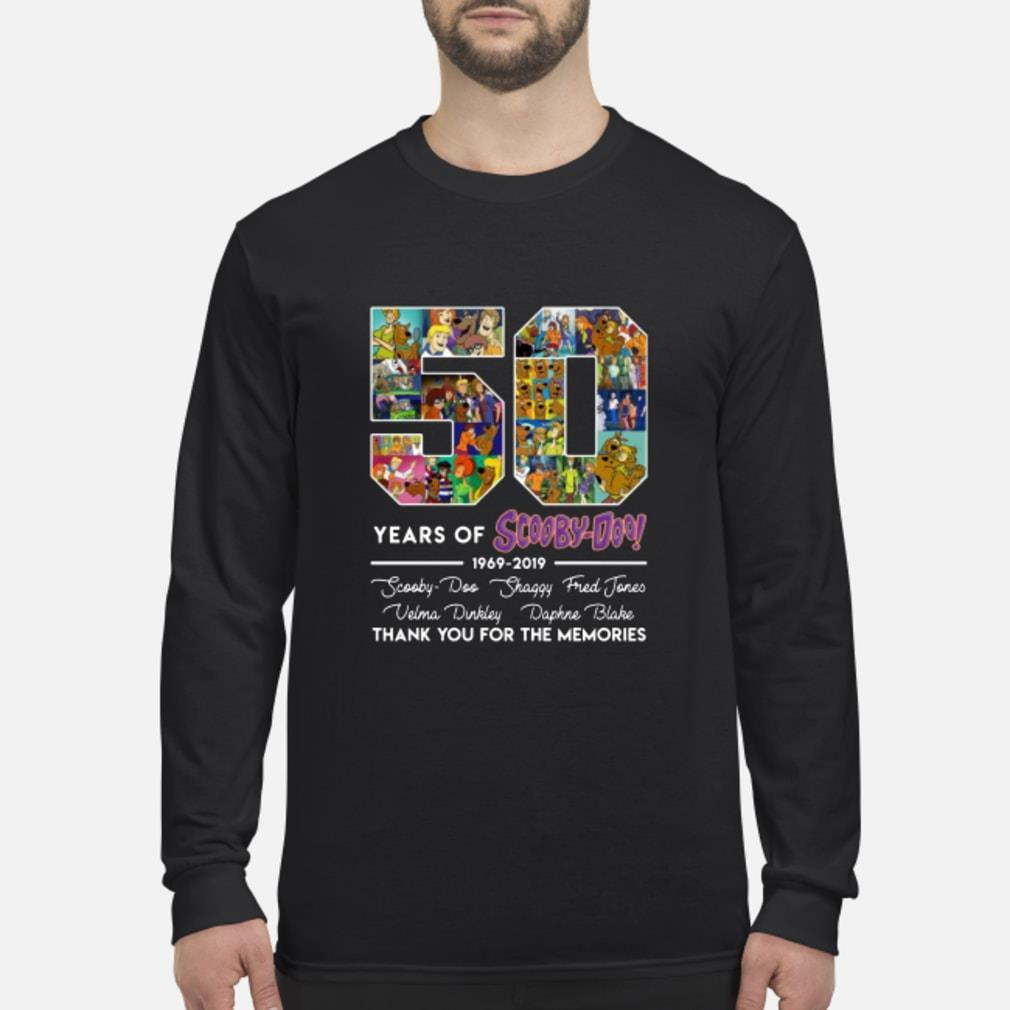 50 Years Of Scooby Doo Anniversary 1969-2019 Shirt Long sleeved