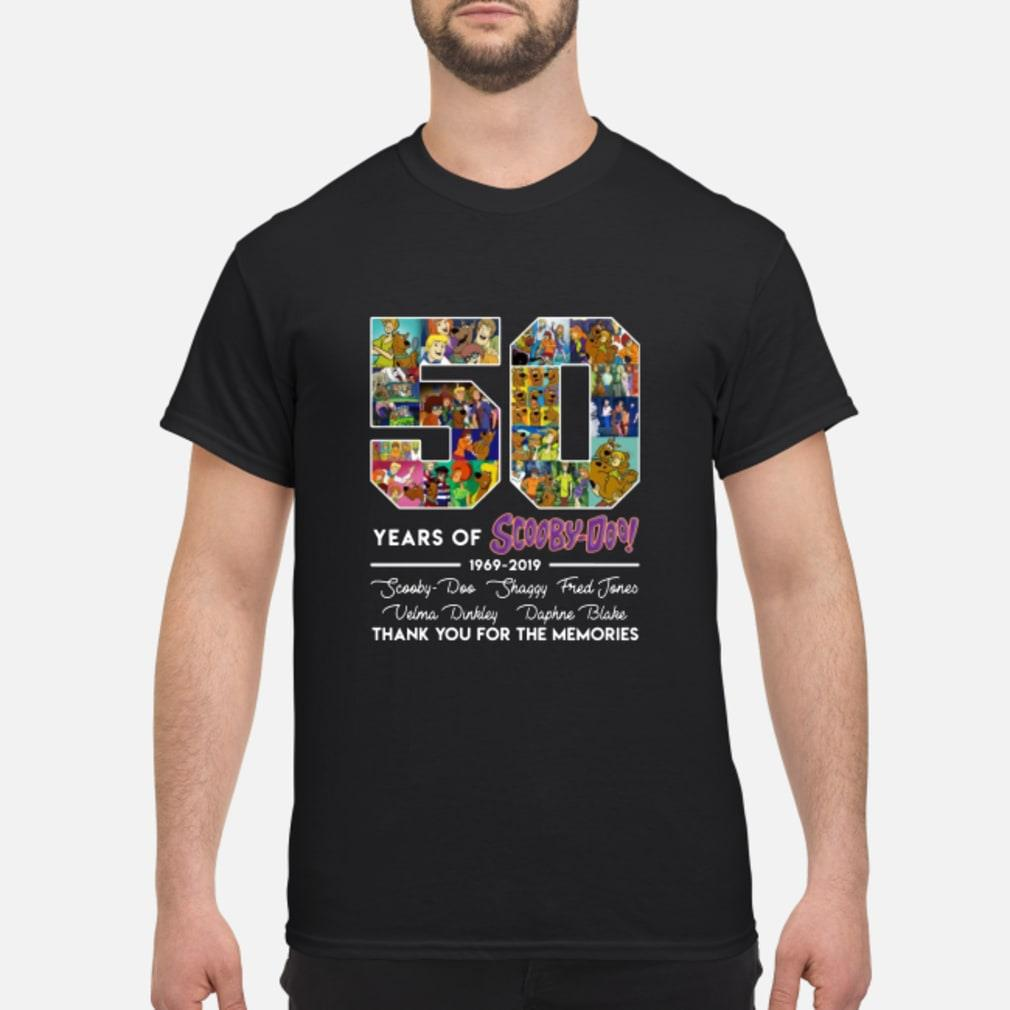50 Years Of Scooby Doo Anniversary 1969-2019 Shirt
