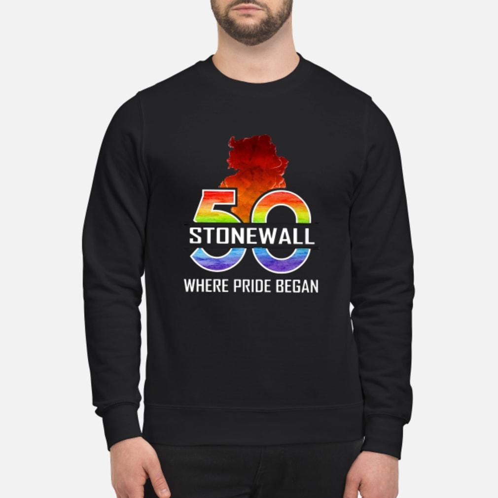 50 stonewall where pride began shirt sweater