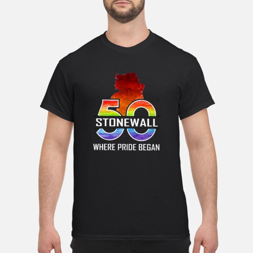 50 stonewall where pride began shirt