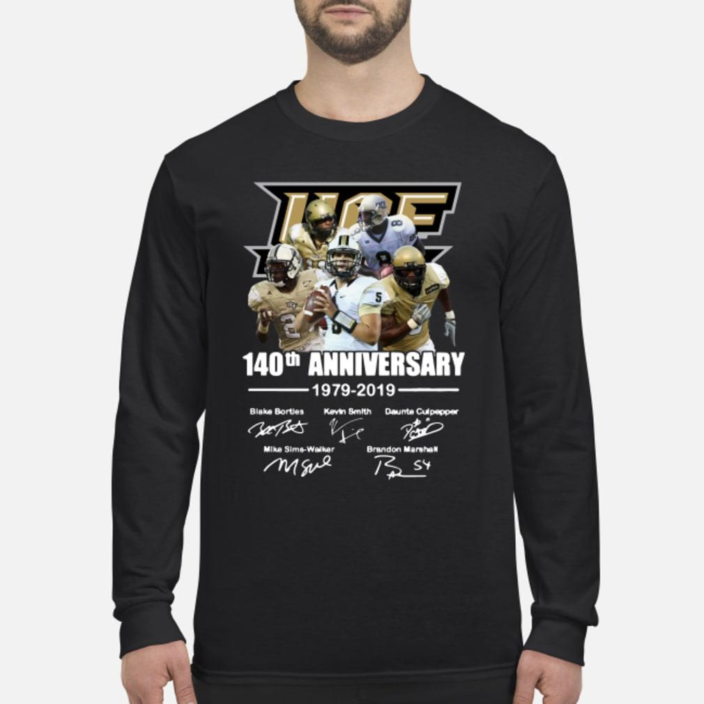 50th Ucf Anniversary Signature Shirt Long sleeved