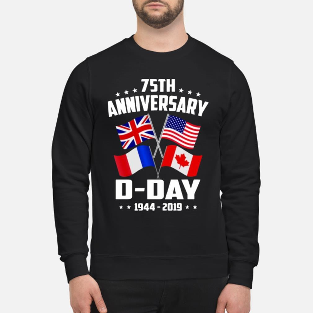 75th Anniversary D-Day 1944-2019 T-shirt sweater