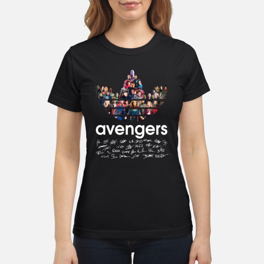 Adidas Avengers Signatures shirt ladies tee