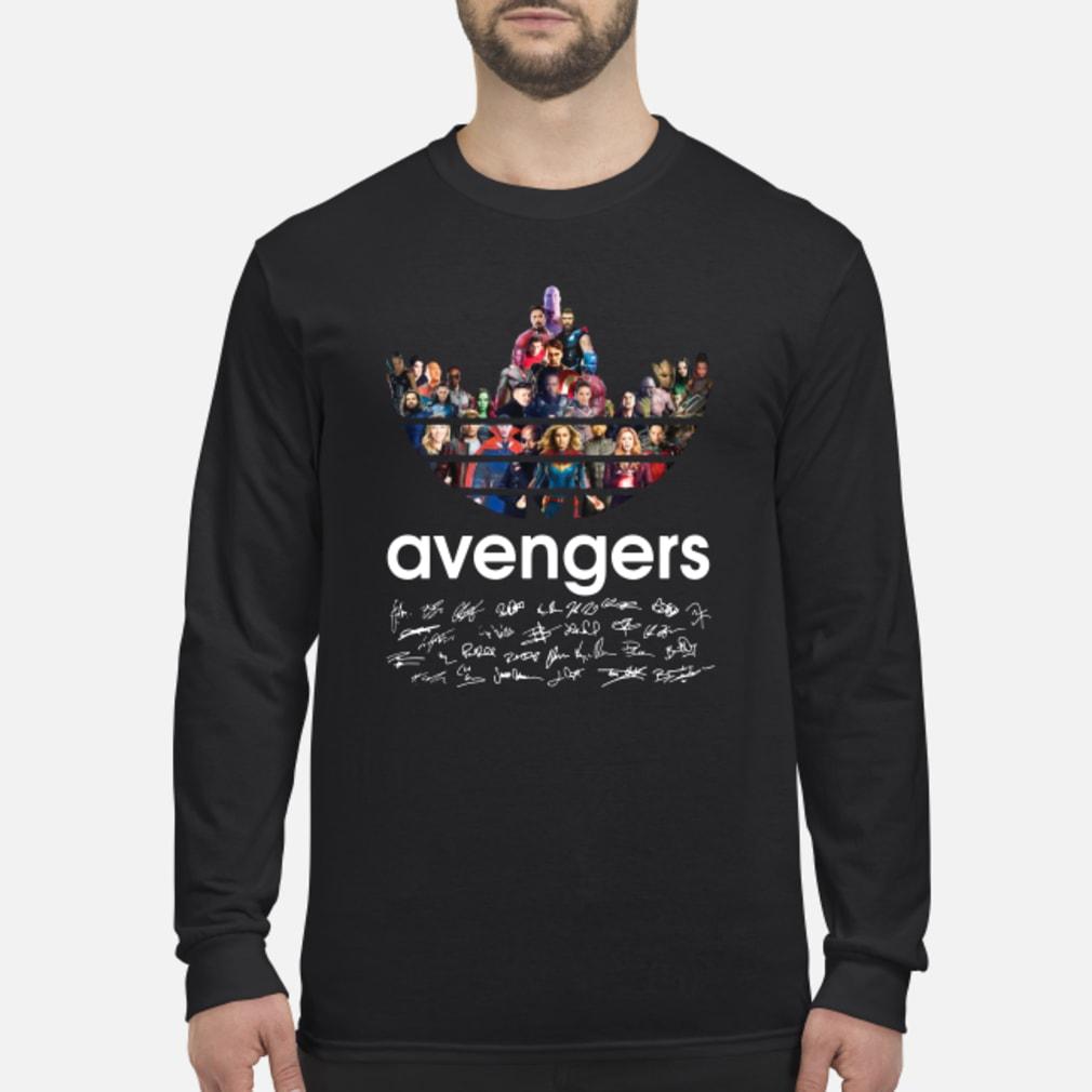 Adidas Avengers Signatures shirt Long sleeved
