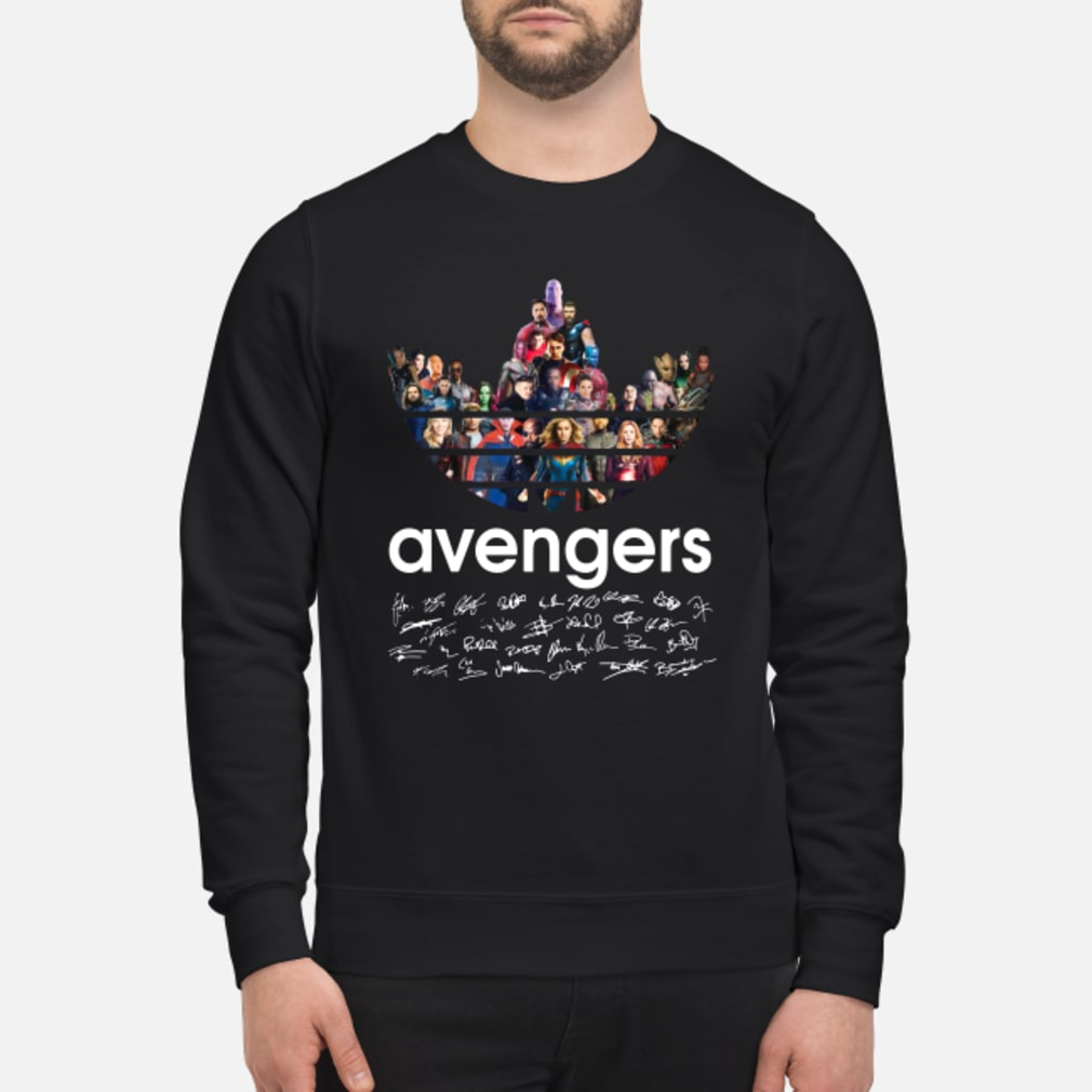Adidas Avengers Signatures shirt sweater
