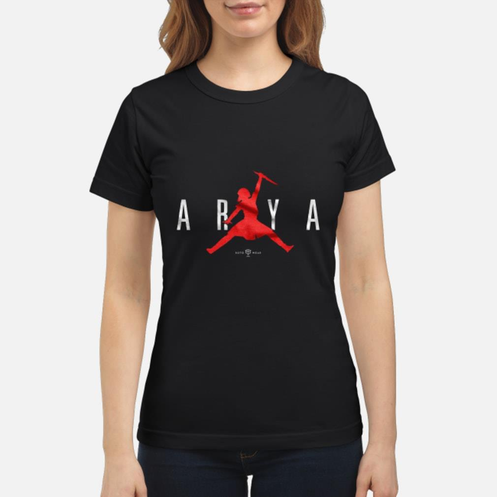 Air Arya Stark Jordan shirt ladies tee