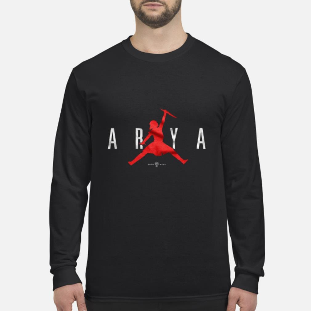 Air Arya Stark Jordan shirt Long sleeved