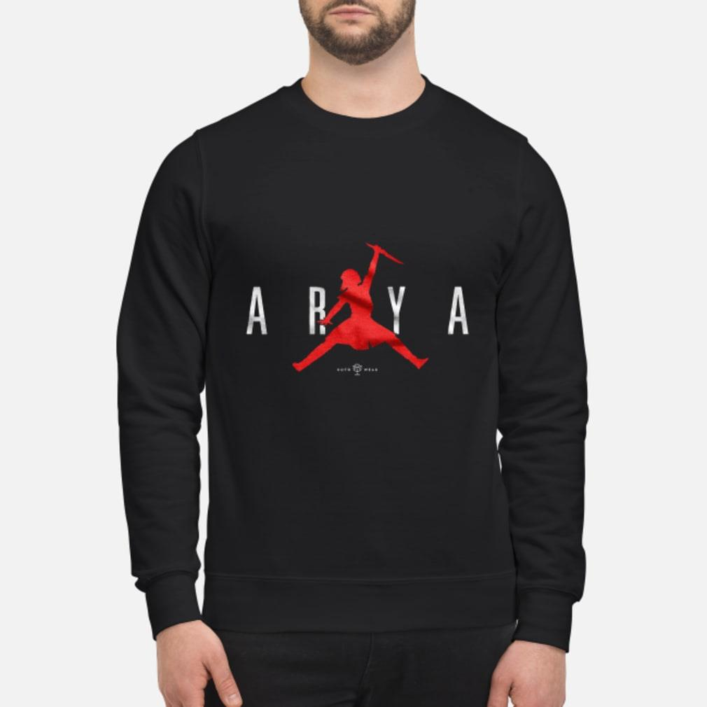 Air Arya Stark Jordan shirt sweater