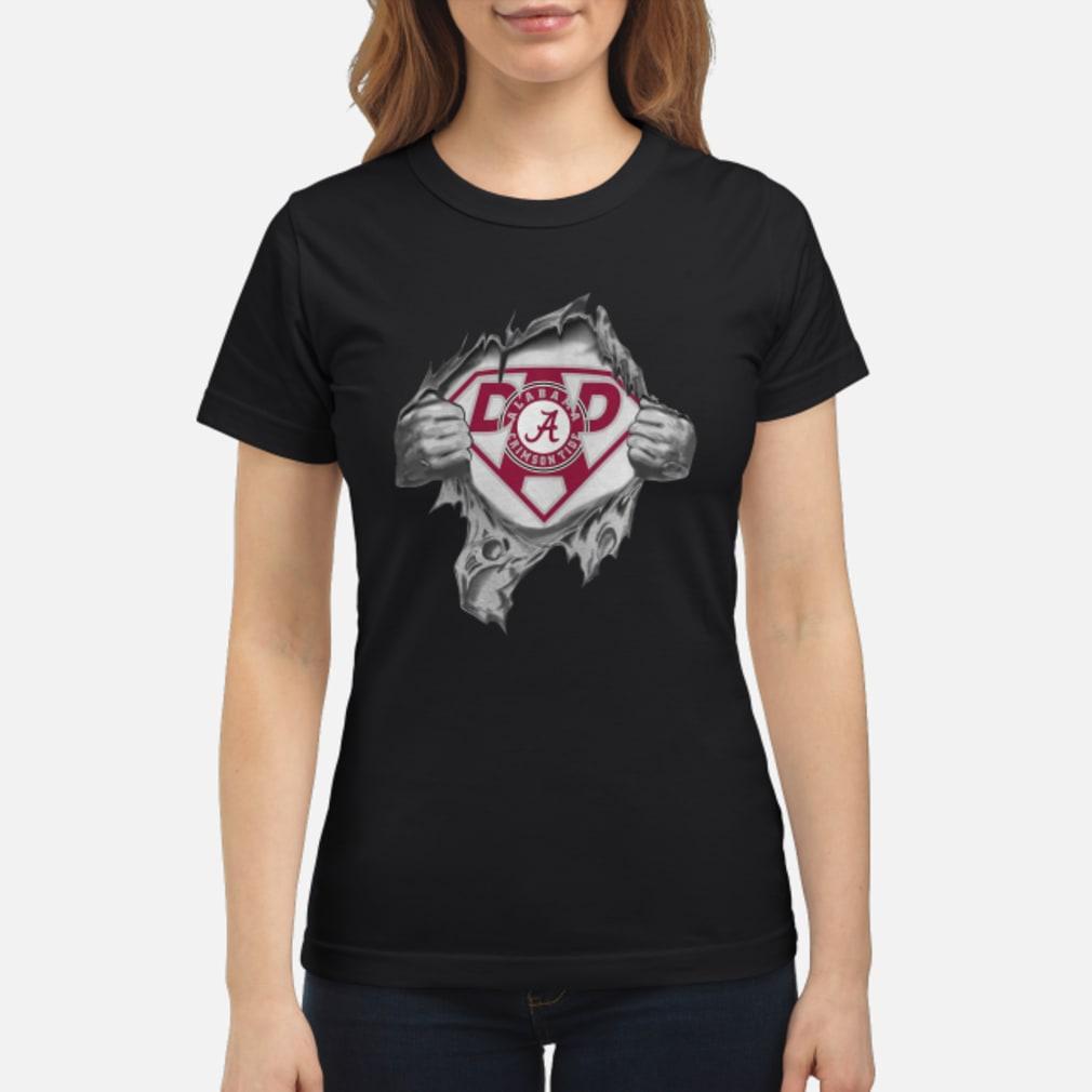 Alabama Super Dad shirt ladies tee