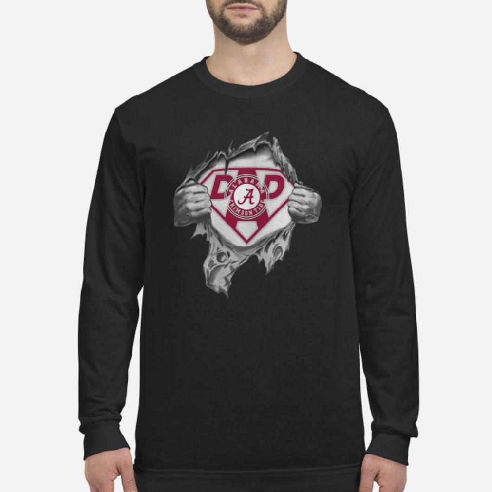 Alabama Super Dad shirt Long sleeved