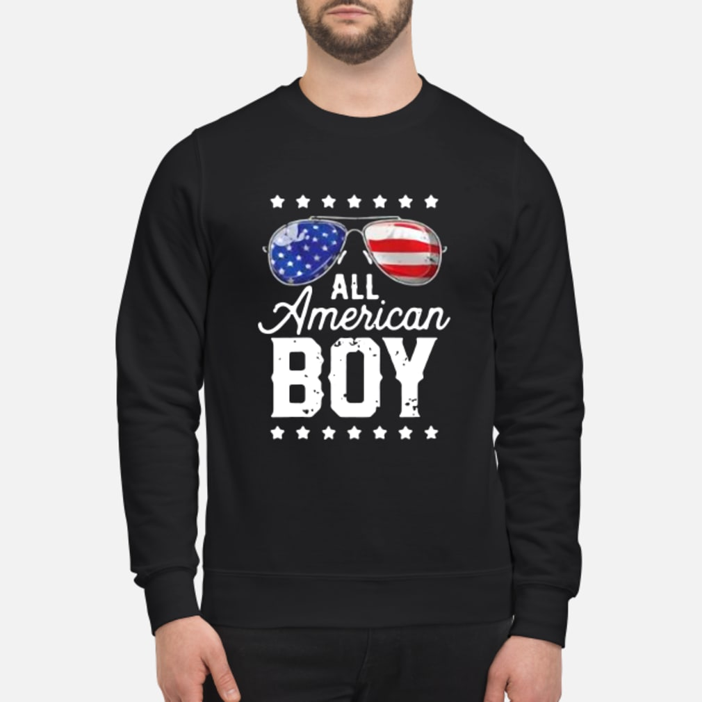 All American Boy 4th of July Shirt sweater