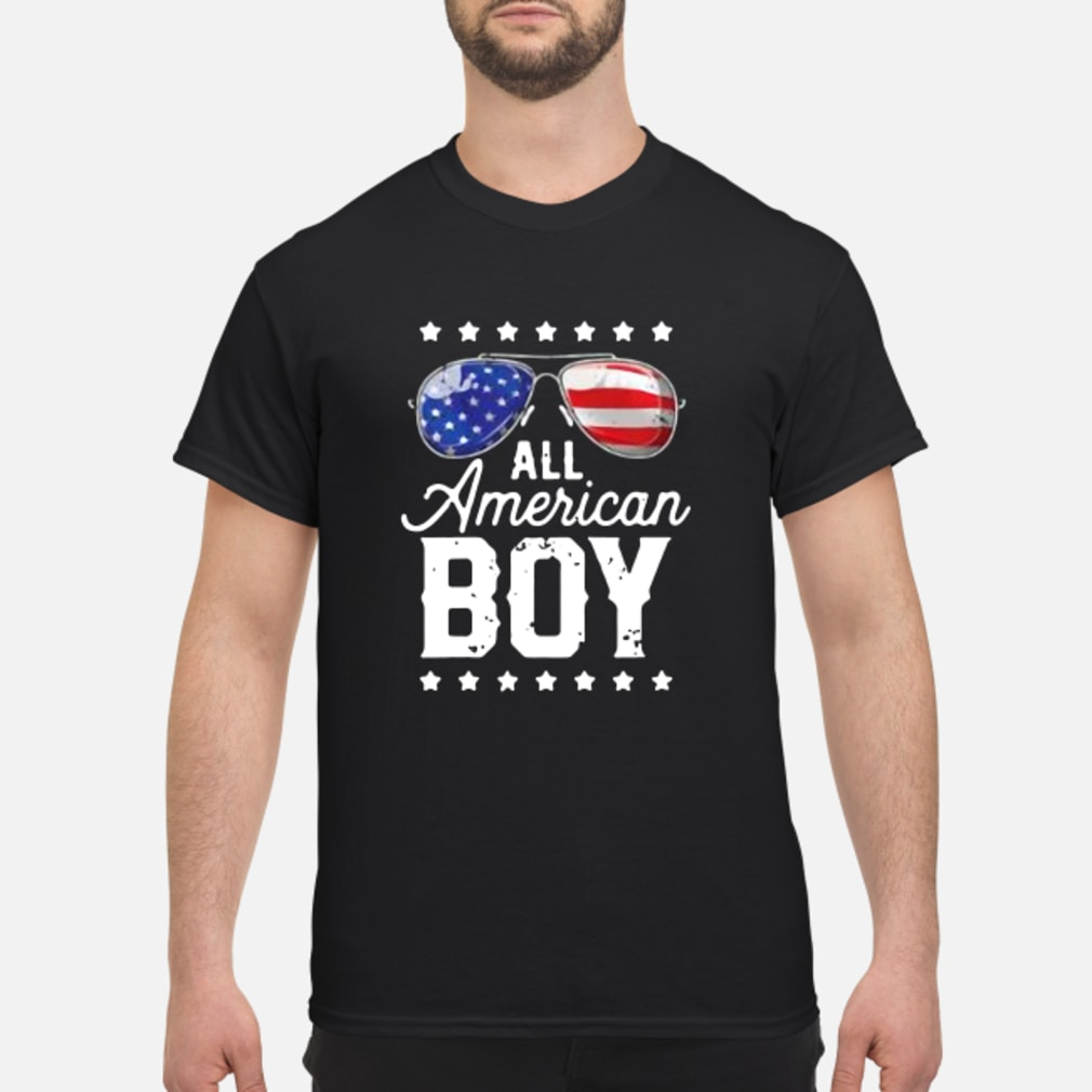 All American Boy 4th of July Shirt