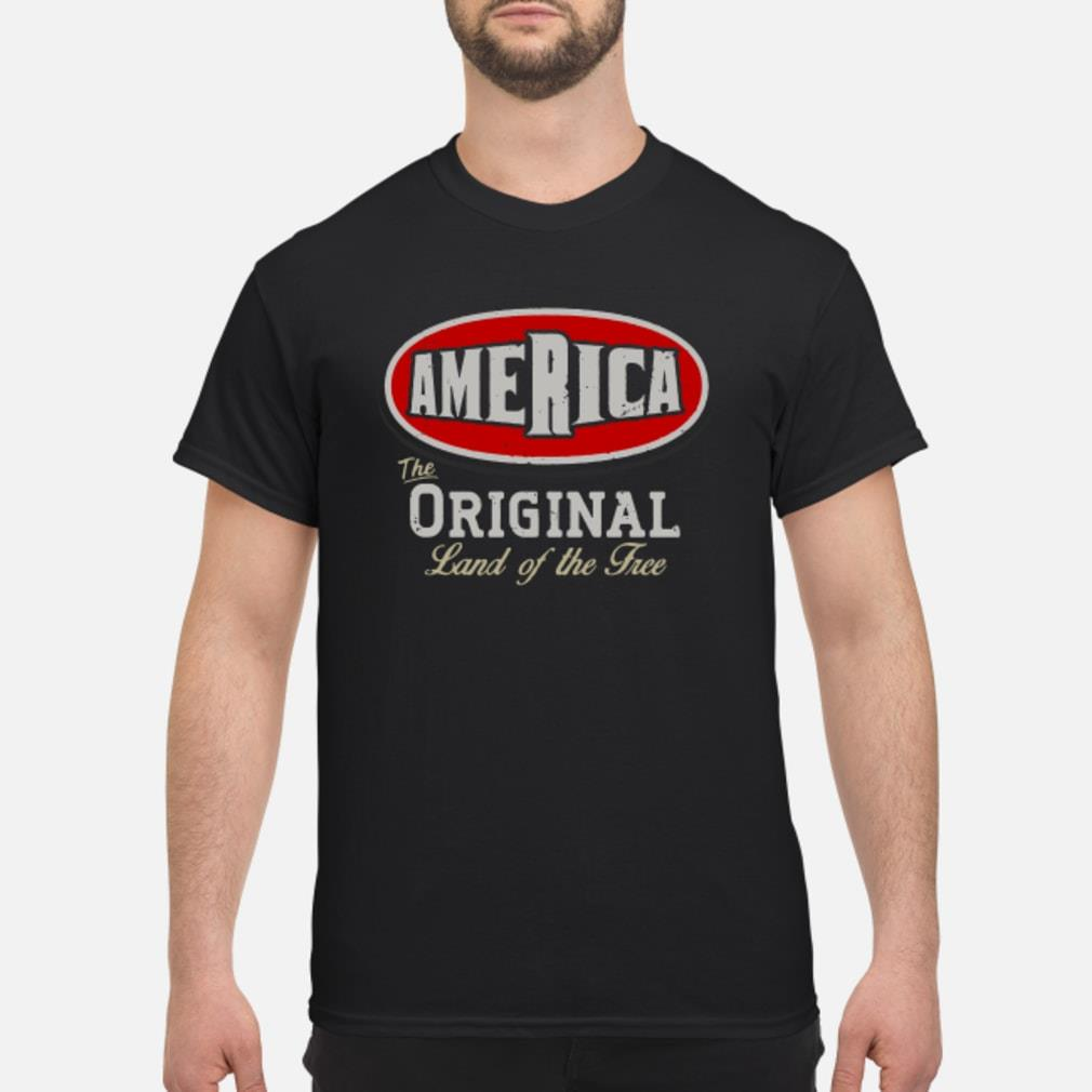 America the of the tree shirt