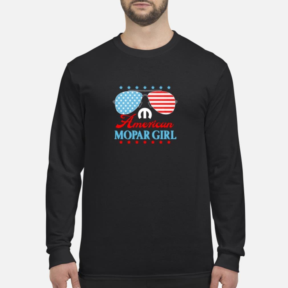 American mopar girl shirt Long sleeved