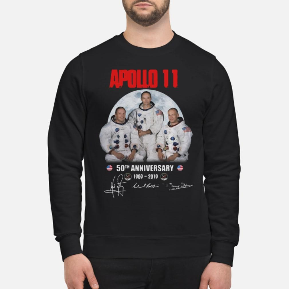 Apollo 11 50th anniversary Walking on the moon shirt sweater