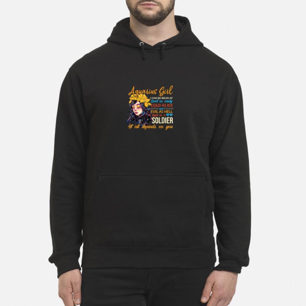 Aquarius Birthday Women Shirt hoodie