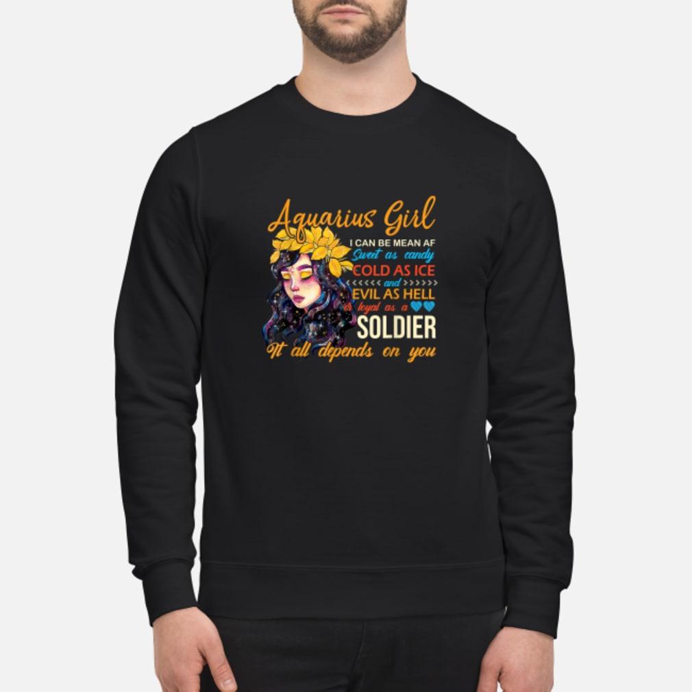 Aquarius Birthday Women Shirt sweater