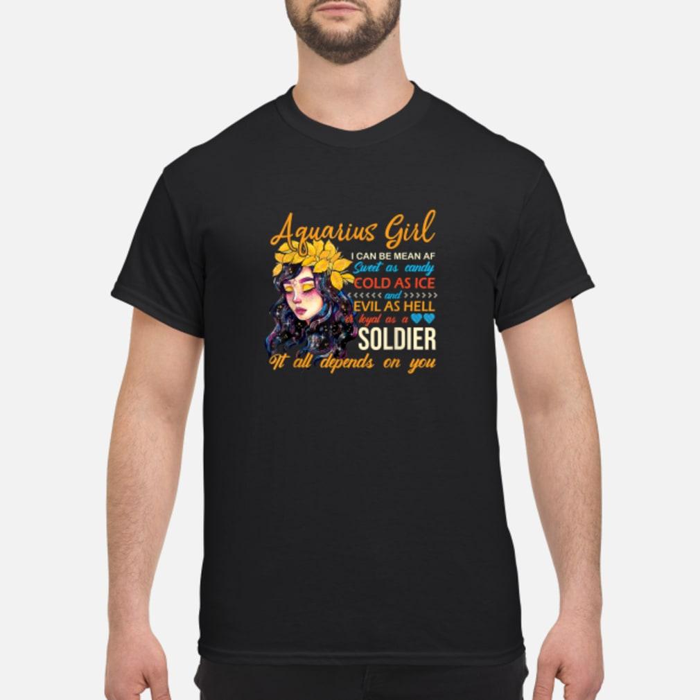 Aquarius Birthday Women Shirt