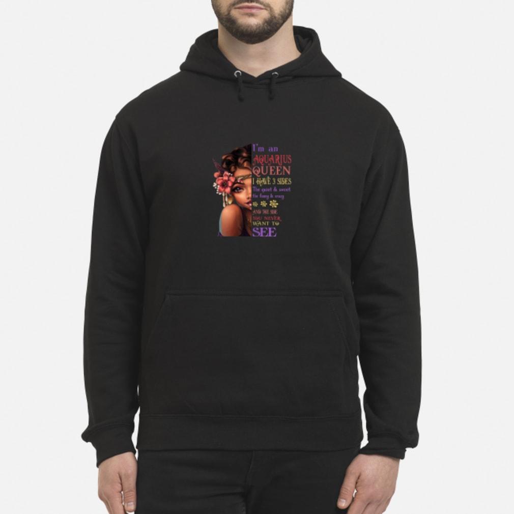 Aquarius QUEEN I 3 SIDES Aquarius Shirt hoodie