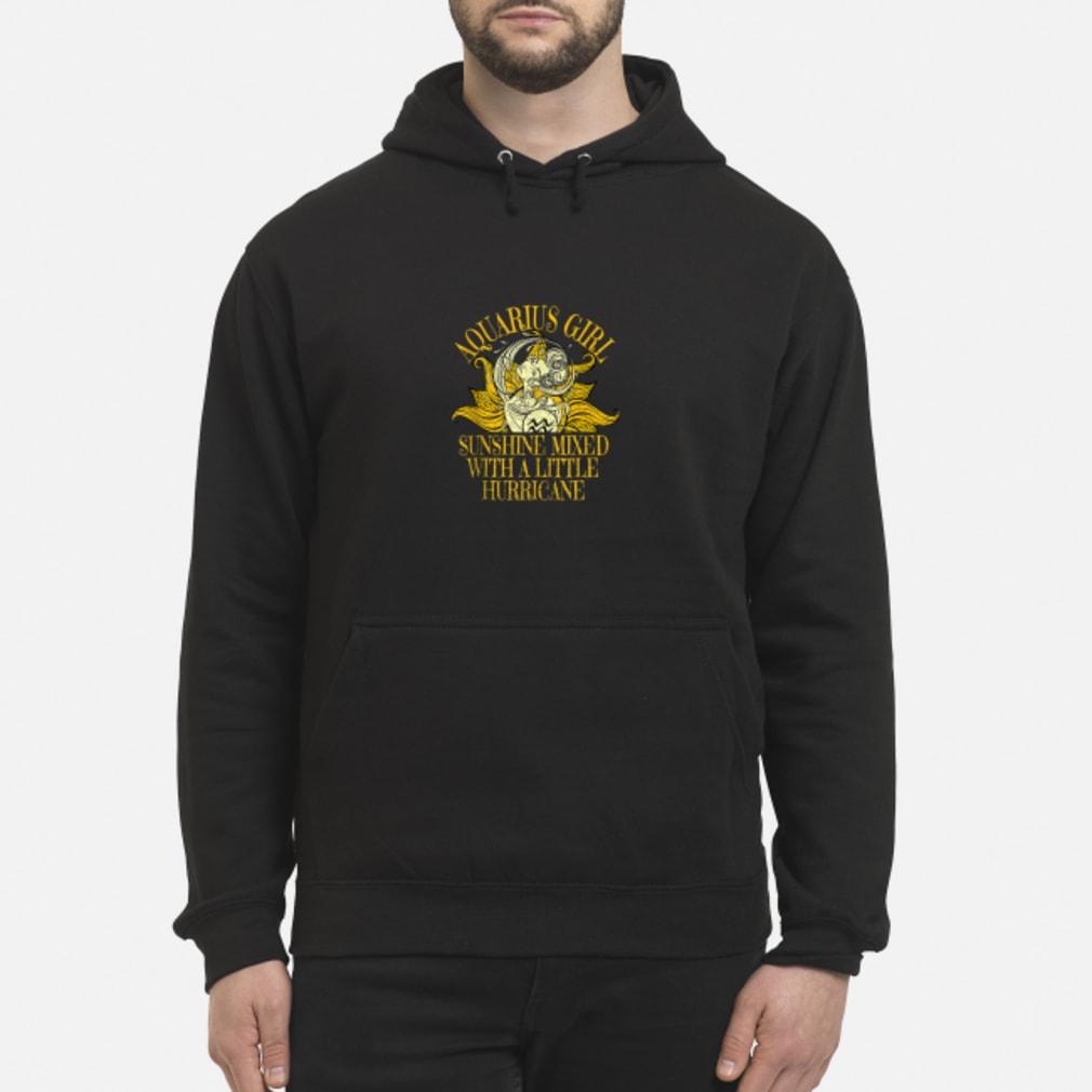 Aquarius Sunshine Hurricane January February Shirt hoodie