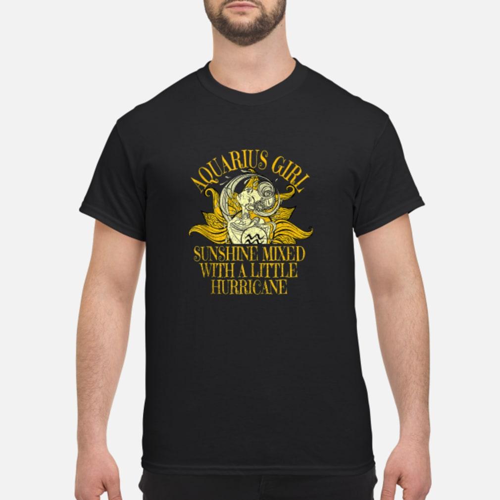 Aquarius Sunshine Hurricane January February Shirt