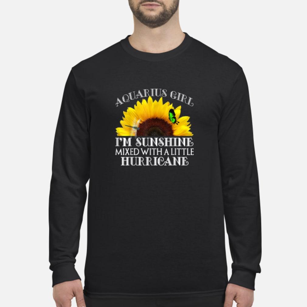 Aquarius Sunshine Hurricane Shirt Long sleeved