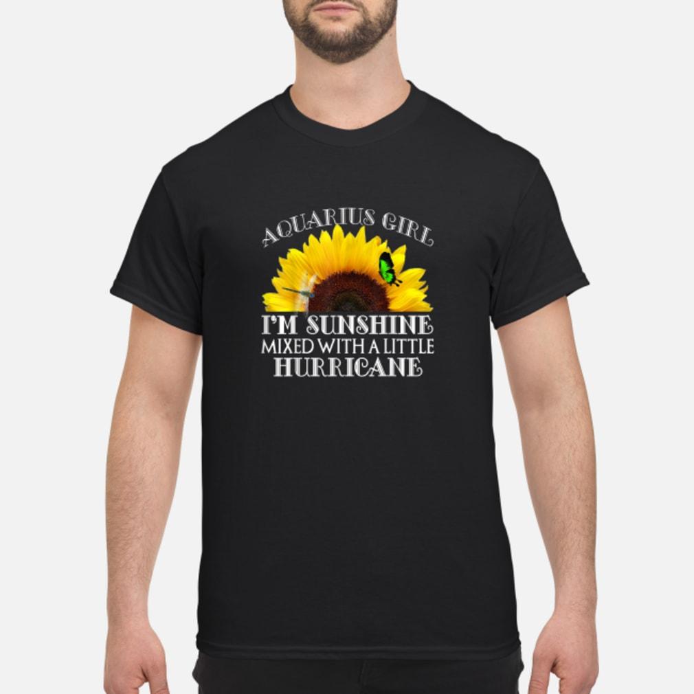 Aquarius Sunshine Hurricane Shirt