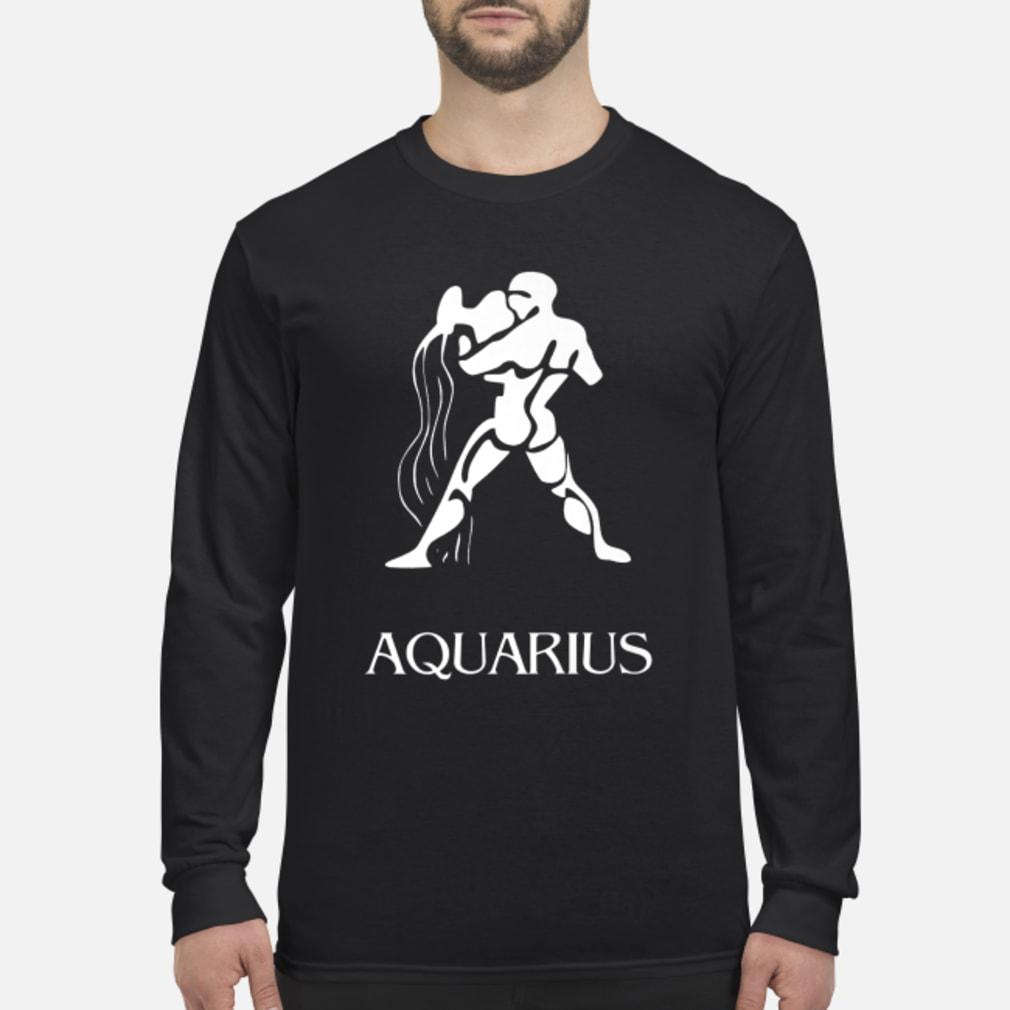 Aquarius Zodiac Sign Shirt Long sleeved