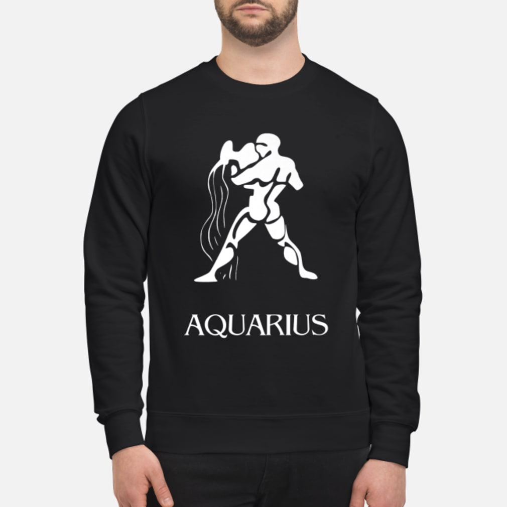 Aquarius Zodiac Sign Shirt sweater