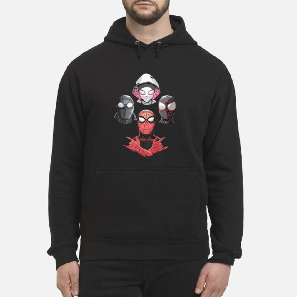 Arachnid Rhapsody Spider Man Shirt hoodie
