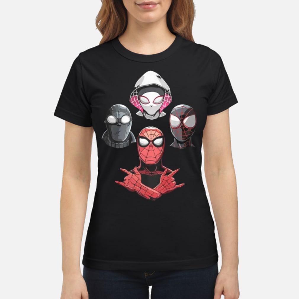 Arachnid Rhapsody Spider Man Shirt ladies tee