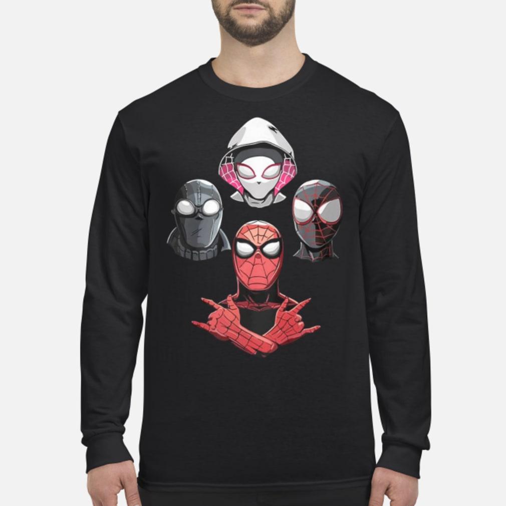 Arachnid Rhapsody Spider Man Shirt Long sleeved