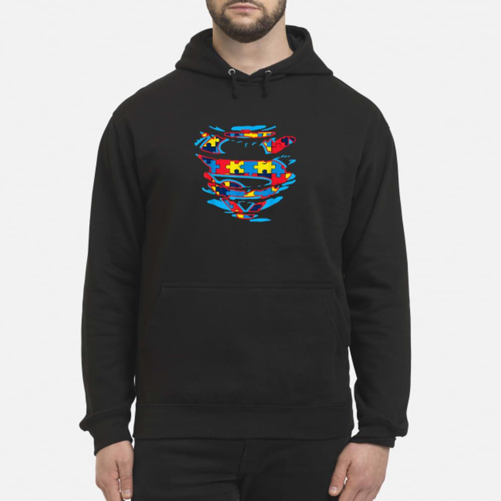 Autism Awareness Superman T-shirt hoodie