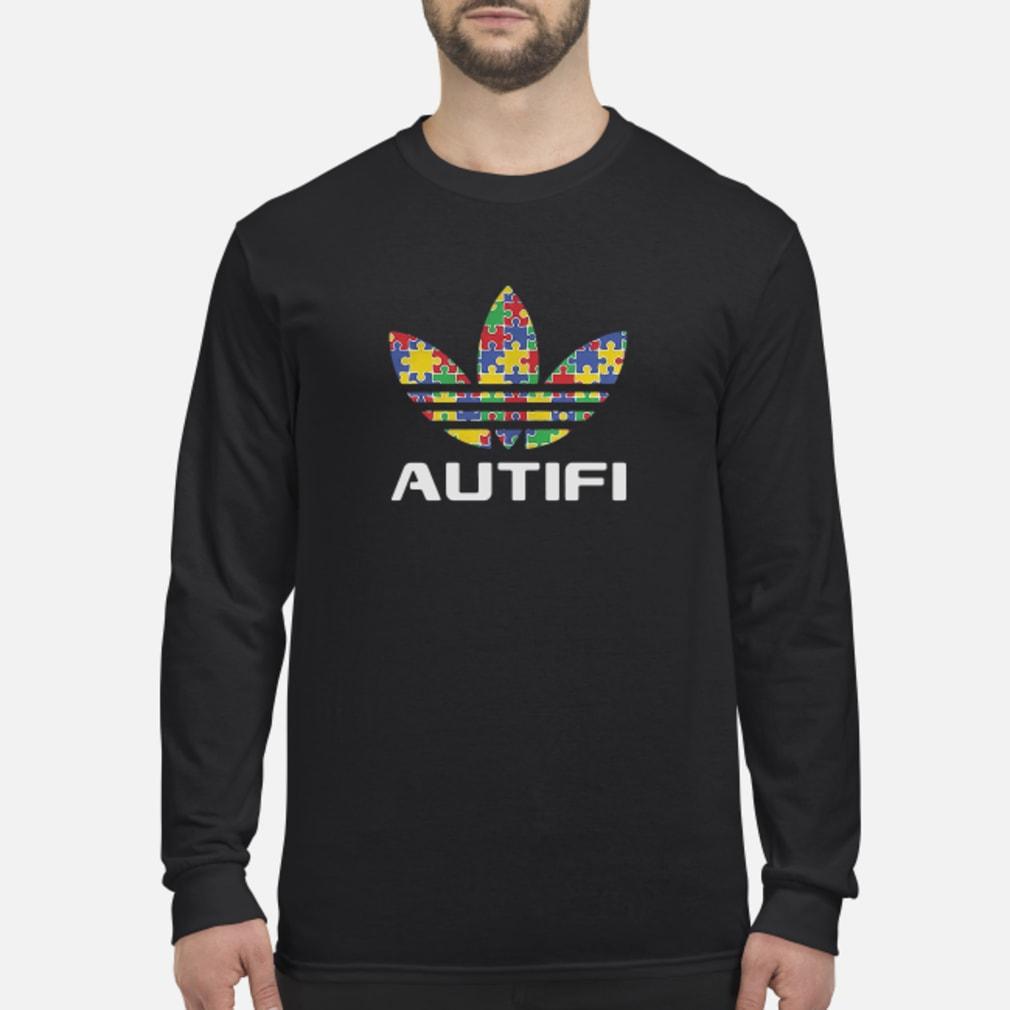 Autism awareness adidas autifi Shirt long sleeved