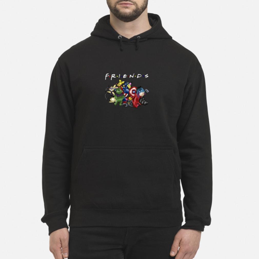 Avengers Disney cartoons friends shirt hoodie