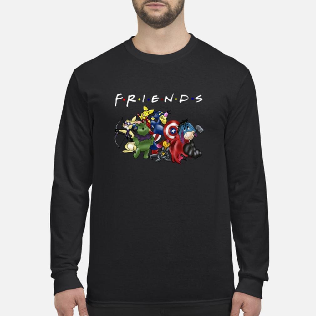 Avengers Disney cartoons friends shirt long sleeved