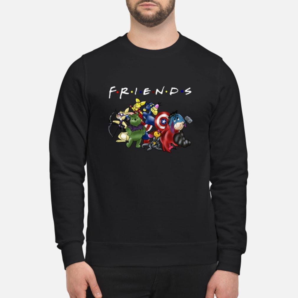 Avengers Disney cartoons friends shirt sweater